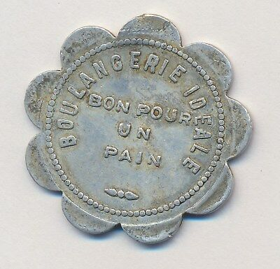 Obsolete Canada Bread Token IDEAL Bakery St Jean sur Richelieu P.Quebec