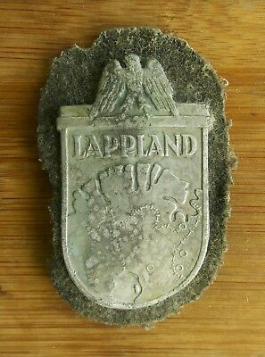german armshield badge, Lappland Operation, 1945, WWII