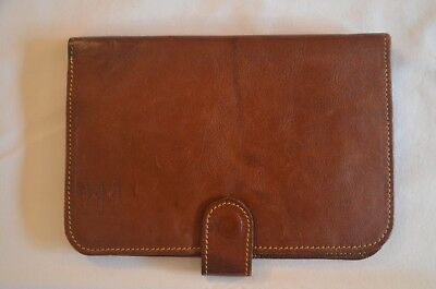 "Fly Fishing. Quality Leather and Sheepskin, ""First English"" Fly wallet"