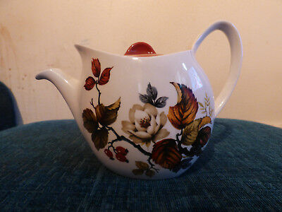 Midwinter Stylecraft Teapot - Rosewood - Vintage/Retro - China