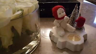 Snowbabies Figurine - Perfect Catch Of the Day (NEW in box)