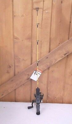 """Eagle Claw Ice Fishing Rod and Reel Combo 28"""" ~ New"""