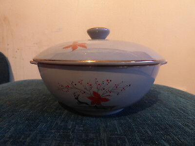 Alfred Meakin - Stag - Tureen with lid - Vintage/Retro - Christmas - China
