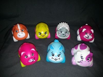 Set 7 Voitures Animaux Mouton Lapin Cheval ........smoby Jouet