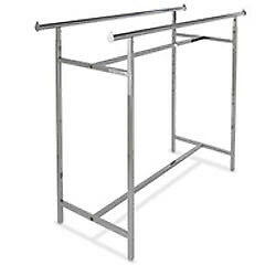 Econoco Double Bar H Clothing Rack - K40