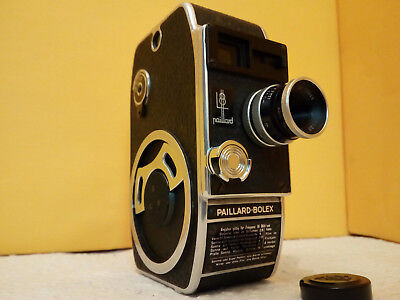 Paillard-Bolex L8 Amateur-Filmkamera Made in Switzerland