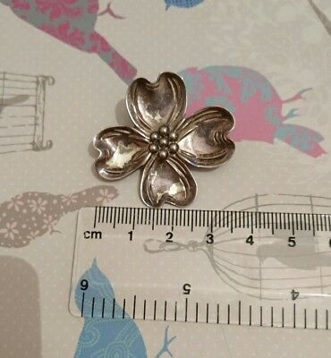 Sterling silver brooche