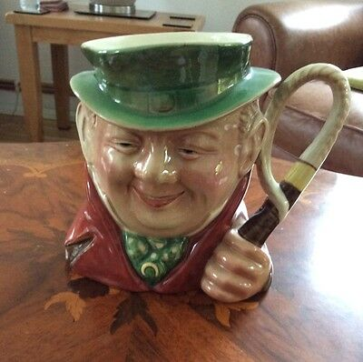 BESWICK LARGE CHARACTER JUG TONY WELLER  No 281 VGC 18cms HIGH
