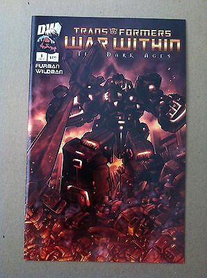 Transformers War Within Dark Ages #1 Pat Lee 1:25 Incentive Variant 1St Printing