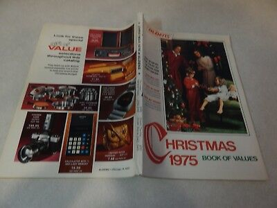 1975 Alden's Christmas Book Of Values Catalog