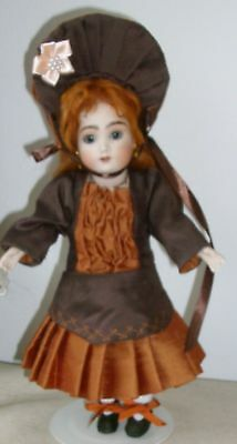 26cm ANTIQUE REPRODUCTION FRENCH STYLE OUTFIT IN PURE SILK