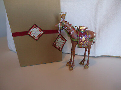 """Department 56 Krinkles Magi Animal  Camel 9"""" tall new 56.38676 Patience Brewster"""