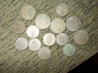 Shillings and Florins mixed lot