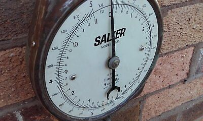 Vintage and Retro Butchers weighing scales SALTERS (RUSTIC). model number 235