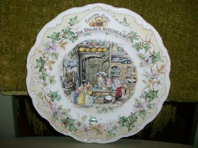 Royal Doulton Brambly Hedge Plate - The Palace Kitchens.