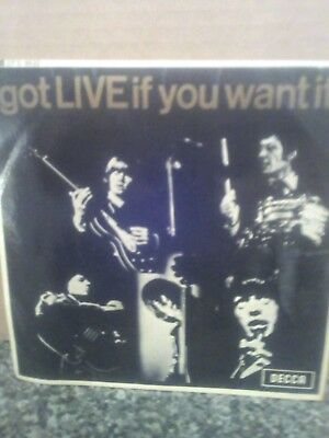 The Rolling Stones EP,got LIVE if you want it!1965,mono dfe 8620.