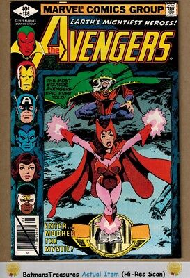 Avengers #186 (9.4) NM Scarlet Witch 1979 Bronze Age Key Issue