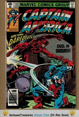 Captain America #234 (9.4) NM Daredevil Appearance 1979 Bronze Age Key Issue