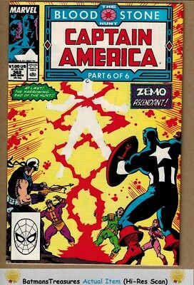 Captain America #362 (9.0) VF/NM 2nd Crossbones Appearance 1989 Key Issue