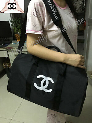 100% Authentic New Chanel Vip Duffle Weekend Bag Travel Holiday/Weekend Bag