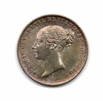 1839 Sixpence, Victoria, Slabbed By Ngc Ms 65