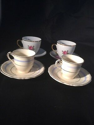 Vintage Cups And Saucers Alfred Meakin And Foreign
