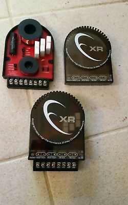 JL Audio XR650/570-CSpxo Crossovers XR650CSI Components BI-WIRE old school RARE