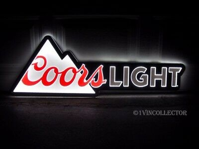 """Coors Light Beer Neon LED Light Bar Sign 40"""" X 13.5"""" New in Box"""