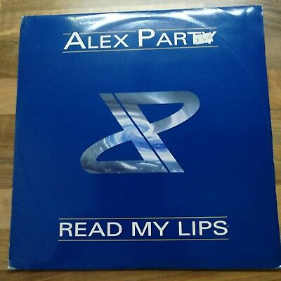 """Alex Party, Read my lips. 12"""" vinyl. UMM Systematic records 1996"""