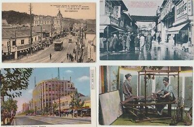 9 Japan Topographical Postcards