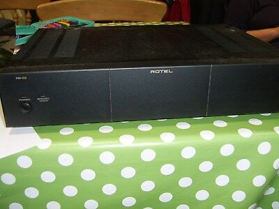 Rotel Rb-03 Power Amp
