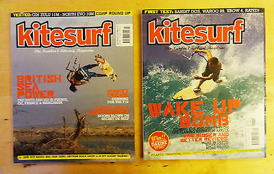 2X Kitesurf Magazine Issue 48 July/aug + 49 Spet/oct 2008 Kitesurf Back Issue