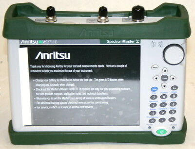 ANRITSU MS2711E  3 GHz Hand Held Spectrum Analyzer