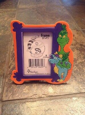 How The Grinch Stole Christmas Dr. Seuss Photo Frame Picture Party Favor New!