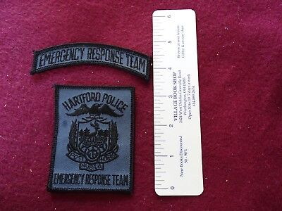 2 Piece Hartford, Connecticut ERT  Patch