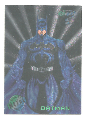 Batman Forever Metal  Trading Card Foil Set