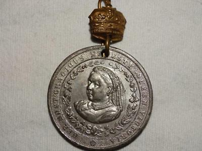 Queen Victoria Diamond Jubilee Medal 1897,collectable.