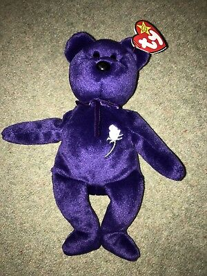 "Ty Beanie Bears - ""Princess"" Diana"