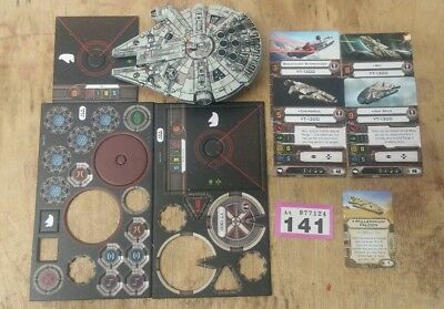 Star Wars X-Wing Miniatures Game Heroes of the Resistance Millennium Falcon