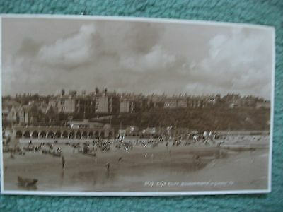 East Cliff,Bournemouth,postcard.