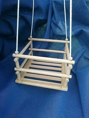 SUPERB CONDITION Charming Vintage Childrens Toddlers Wooden Swing Indoor/Outdoor