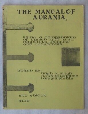#1202 The Manual of Aurania, 2nd Edition