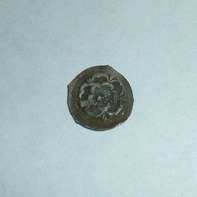 Charles I Hammered Silver Halfpenny S2851