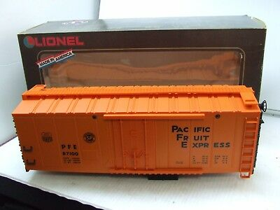 Lionel G Scale Reefer Up Car 8-87100 New
