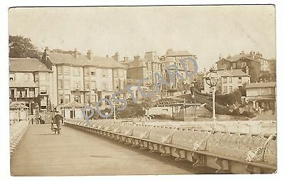 1904 RP PC Sandown Isle of Wight - sent by photographer?