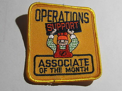 home depot collectibles operations associate of the month patch