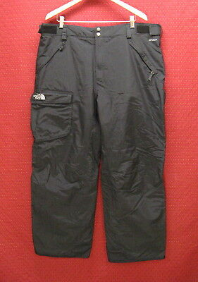 Mens Size 2XL The North Face Hyvent Black Winter Pants