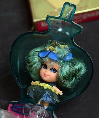 Kiddles Doll-Kiddle Kolognes Bluebell-Mint Carded-Mattel-1967-RCKD