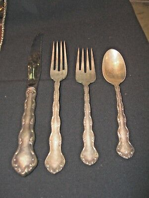 Reed & Barton TARA Sterling 4 Place Setting-