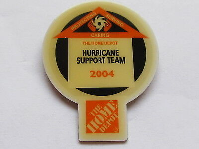 home depot collectibles home depot hurricane support teem lapel pin